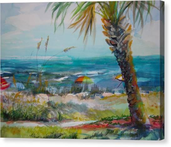 Tom Renick Park Ormond Beach Florida Canvas Print by Marilyn Masters