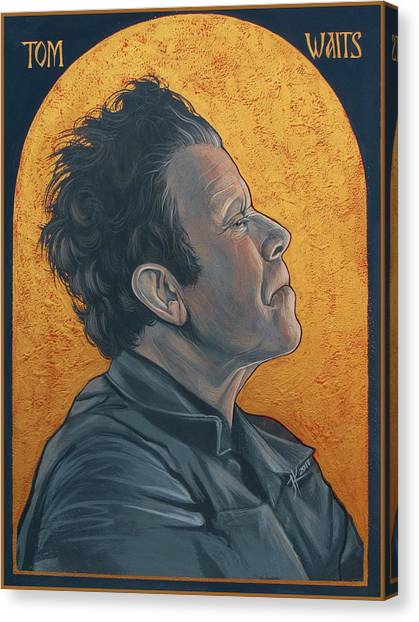 Tom Waits 2 Canvas Print