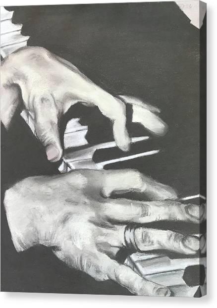 Tom Waits B Canvas Print