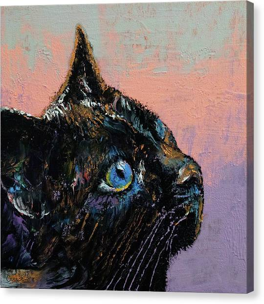 Panthers Canvas Print - Tomahawk by Michael Creese