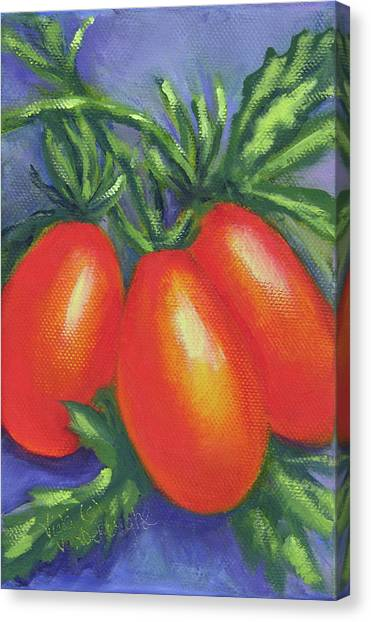 Tomato Roma Canvas Print