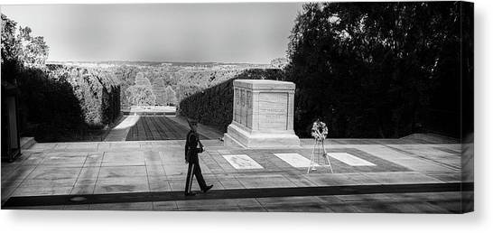 Tomb Of The Unknown Canvas Print