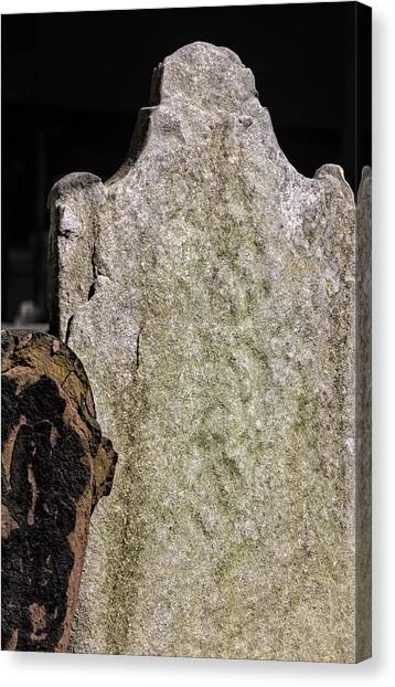 Tombstone Canvas Print by Robert Ullmann