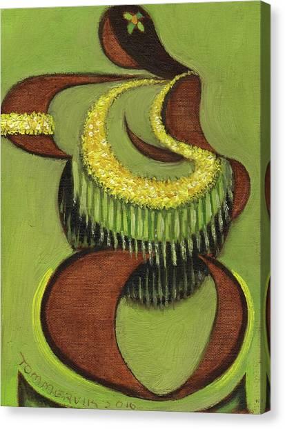 Tommervik Hula Dancer Hawaii Art Print Canvas Print