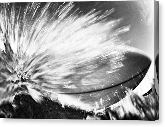 Canvas Print featuring the photograph Tom's Board by Nik West