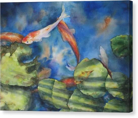Tom's Pond Canvas Print