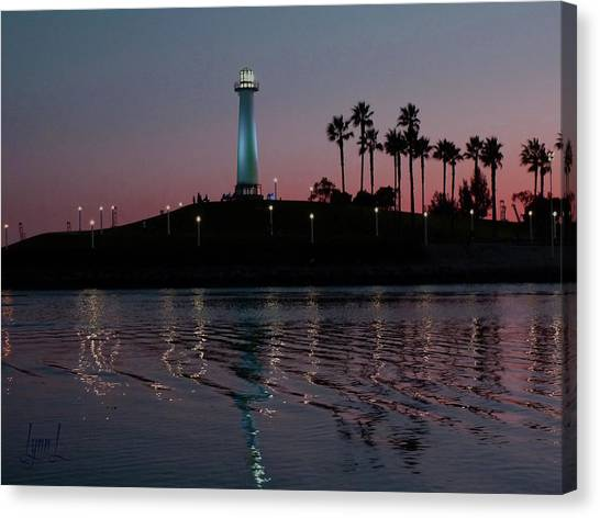Tones In Twilight Canvas Print by S Lynn Lehman