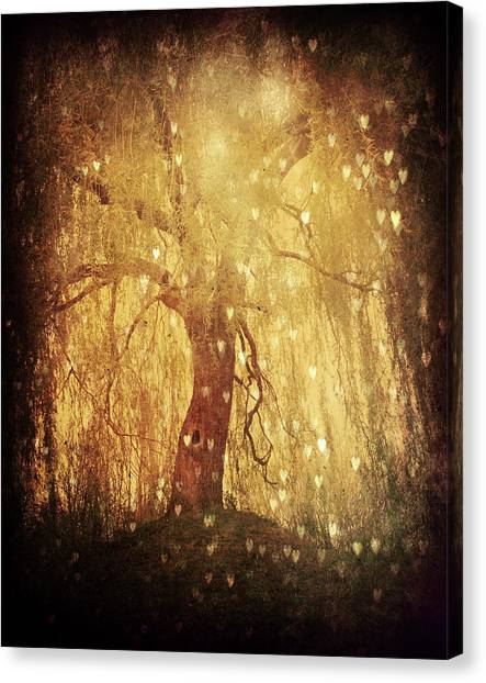 Glowing Canvas Print - Tonight Tonight by Studio Yuki