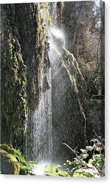 Tonto Waterfall Splash Canvas Print