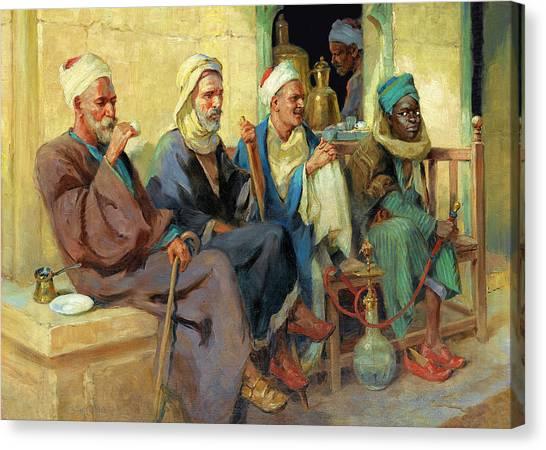 Binders Canvas Print - Tony Binder Cairo by Munir Alawi