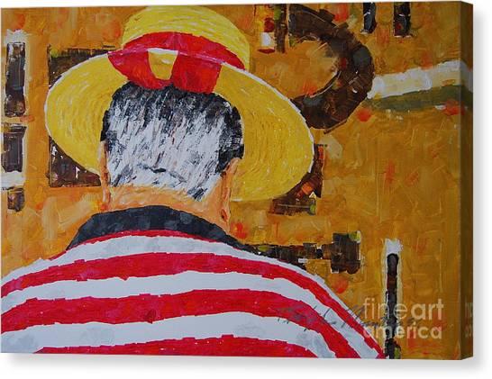 Tony Lover Of The Arts Canvas Print