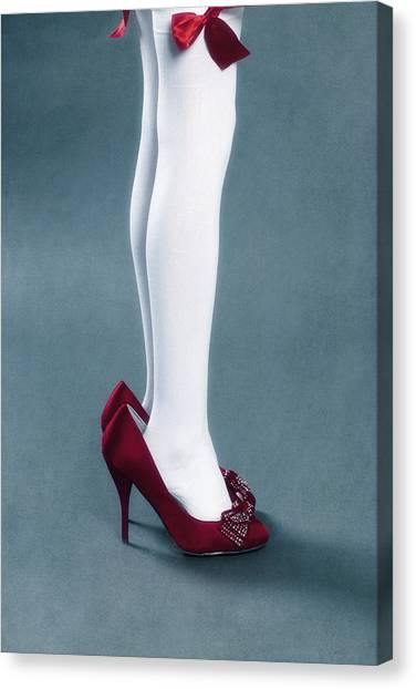Too Canvas Print - Too Big Shoes by Joana Kruse