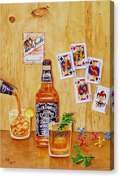 Too Many Jacks Canvas Print