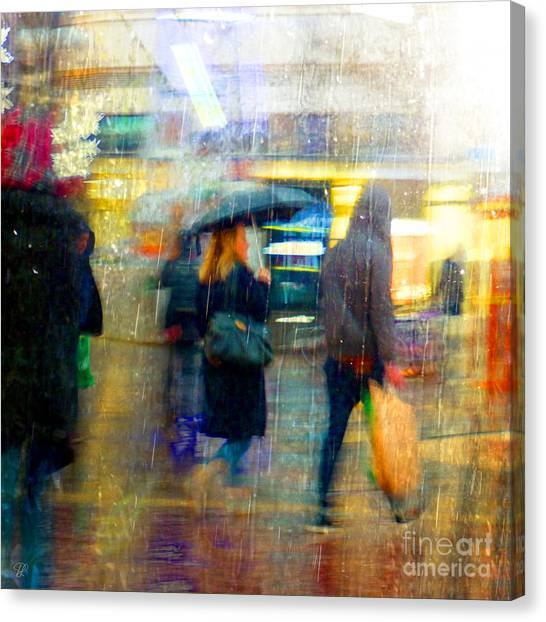 Too Warm To Snow Canvas Print