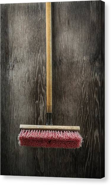 Contractors Canvas Print - Tools On Wood 14 by Yo Pedro