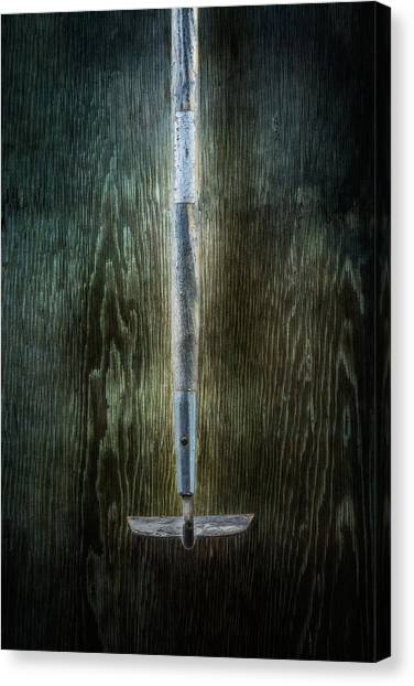 Contractors Canvas Print - Tools On Wood 22 by Yo Pedro