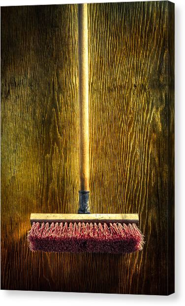 Contractors Canvas Print - Tools On Wood 26 by YoPedro
