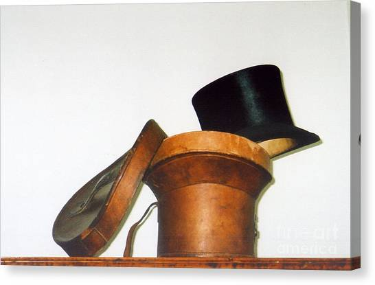 Top Hat Canvas Print by Andrea Simon