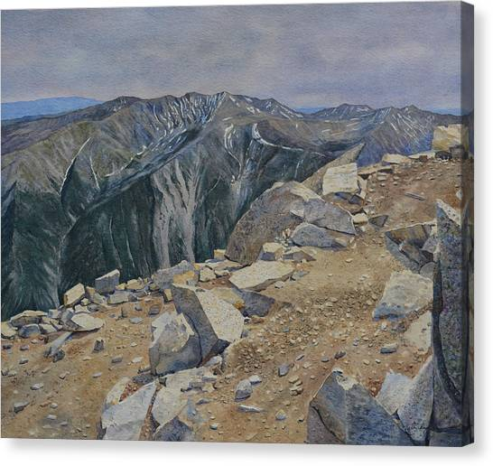 Top Of Mt. Princeton Canvas Print