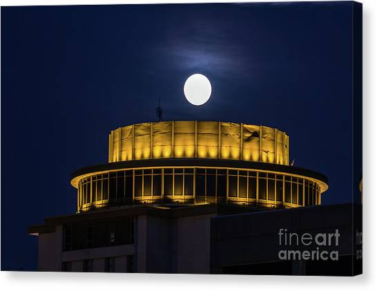 Top Of The Capstone Canvas Print