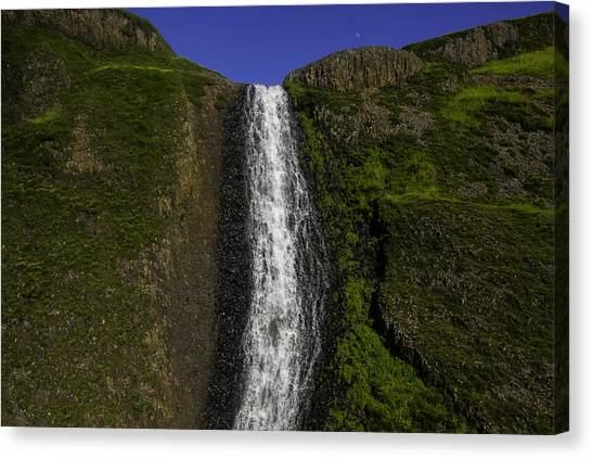 Table Mountain Canvas Print - Top Of The Falls by Garry Gay