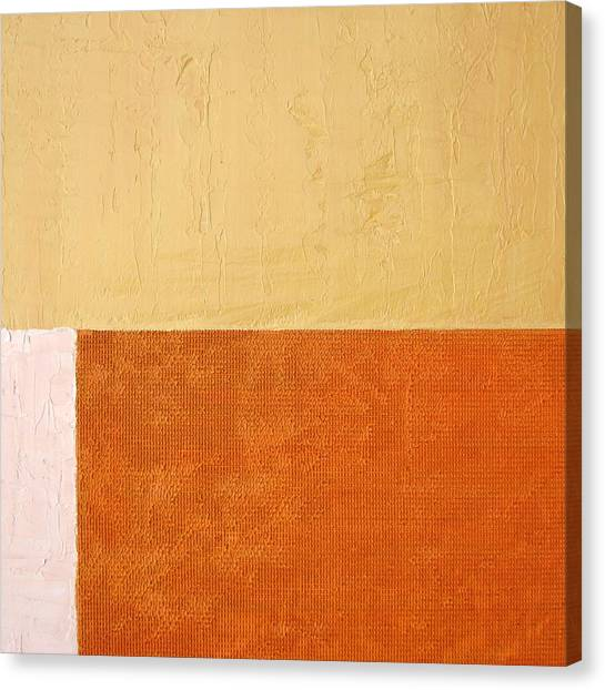 Topaz Pink Orange Canvas Print