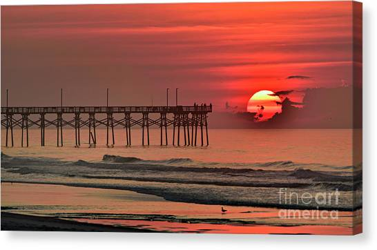 Topsail Moment Canvas Print
