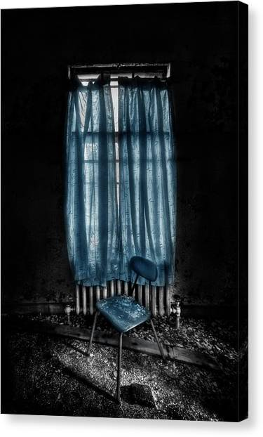 Derelict Canvas Print - Tormented In Grace by Evelina Kremsdorf