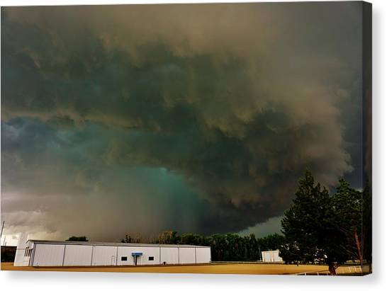 Tornadic Supercell Canvas Print