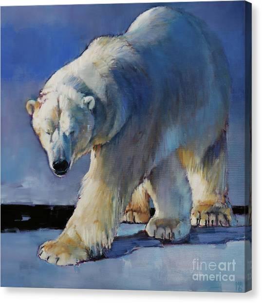Bear Claws Canvas Print - Tornasuk by Mark Adlington
