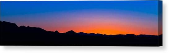 Tornillo Sunset Canvas Print