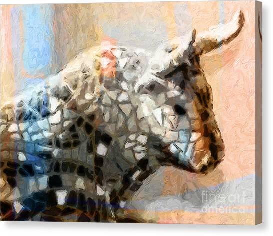 Toro Taurus Bull Canvas Print
