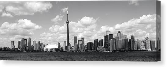 Toronto Skyline Canvas Print - Toronto Skyline 11 by Andrew Fare