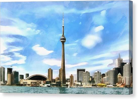 Toronto Waterfront - Canada Canvas Print