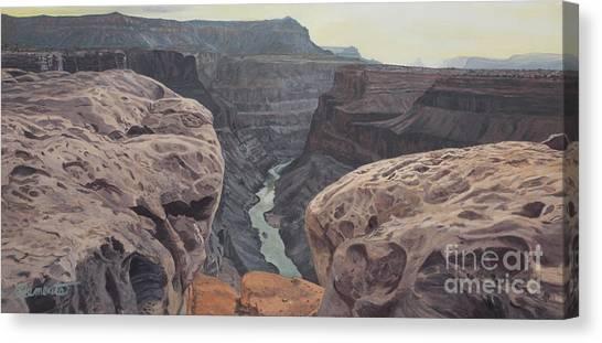 Toroweap Overlook Grand Canyon North Rim Canvas Print