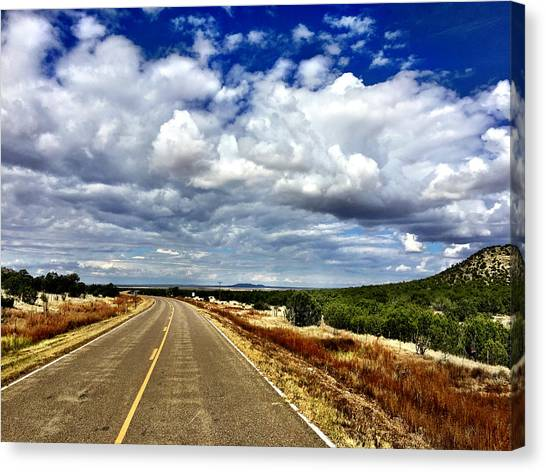 Torrance County Clouds Canvas Print