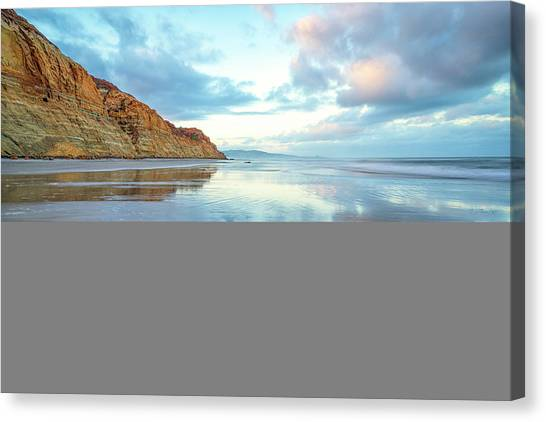Torrey Clouds Canvas Print
