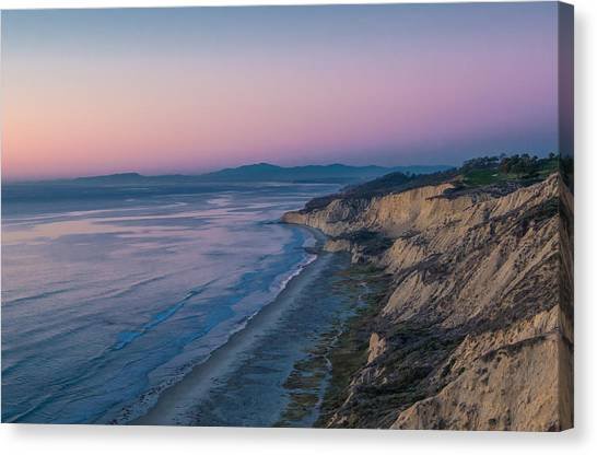 Torrey Glow Canvas Print by Thomas Kaestner