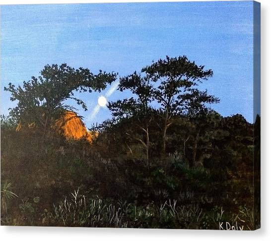 Torrey Pines In The Morning Canvas Print