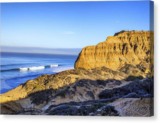Torrey Pines Morning Canvas Print