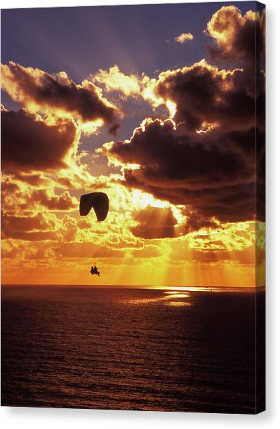 Torrey Pines Sunset Canvas Print