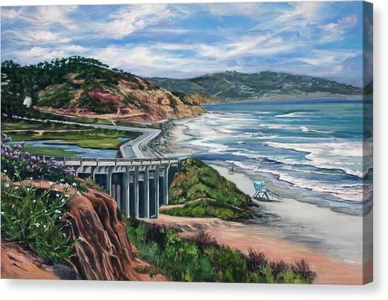 Torrey's Bridge Canvas Print