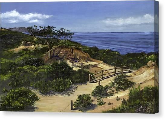 Torrey's Hike Canvas Print