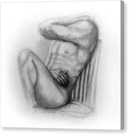Torso Chris I Canvas Print by John Clum