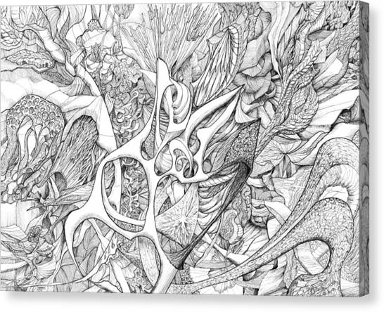 Tortuosity Canvas Print