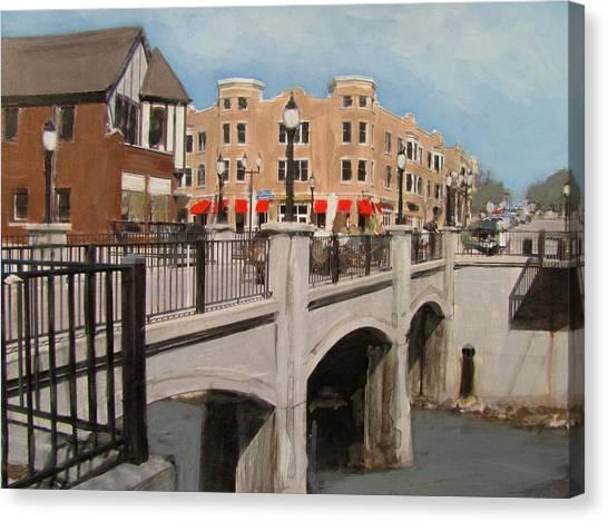 Tosa Village Bridge Canvas Print