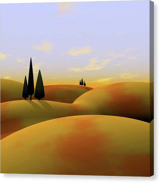 Outdoors Canvas Print - Toscana 3 by Cynthia Decker