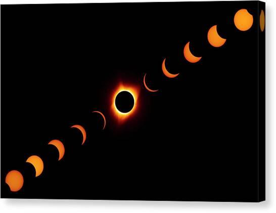 Total Eclipse 2017 Canvas Print