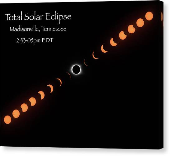 Totality Canvas Print
