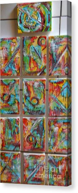 Totem Canvas Print by Hilton  Woodside